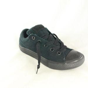 Converse Shoes - Converse All Star Street Ox Black Mono Sneakers fa5f0fa2f